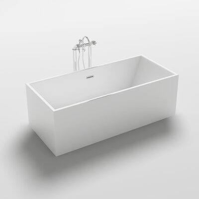 Burano 70.3 x 31.5 Freestanding Soaking Bathtub