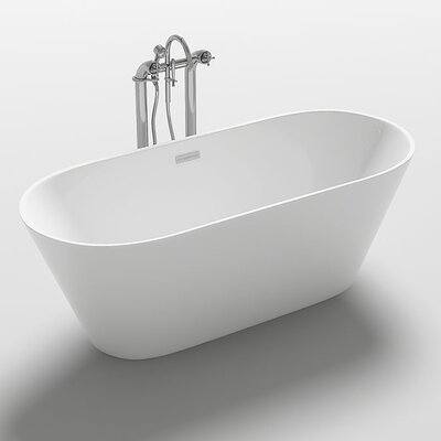 Lugano 67 x 31.5 Freestanding Soaking Bathtub