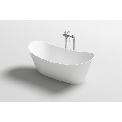 Bolsena 67 x 31.5 Freestanding Soaking Bathtub