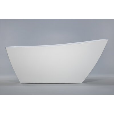 Sicily 67 X 32 Freestanding Soaking Bathtub