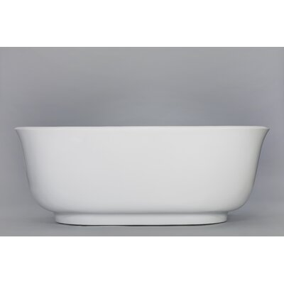 Sevena 65.5 X 30 Freestanding Soaking Bathtub