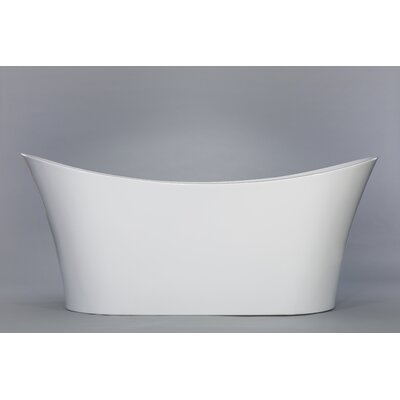 Lesina 66 X 31.5 Freestanding Soaking Bathtub