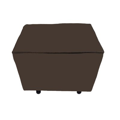 Comfy Cozy Ottoman Upholstery: Chocolate