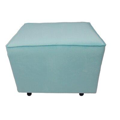 Comfy Cozy Ottoman Upholstery: Aqua