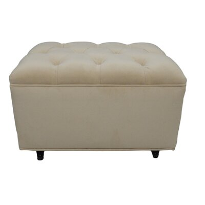 Tres Chic Glider Ottoman Upholstery: Buckwheat Bella