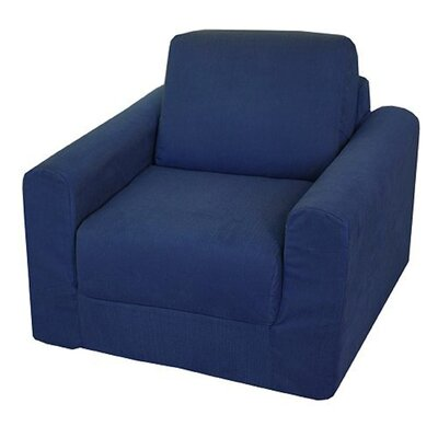 Child Armchair Color: Denim - Blue