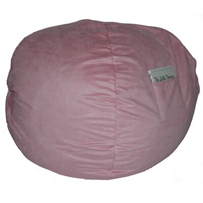 Bean Bag Chair Size: 26, Upholstery: Pink