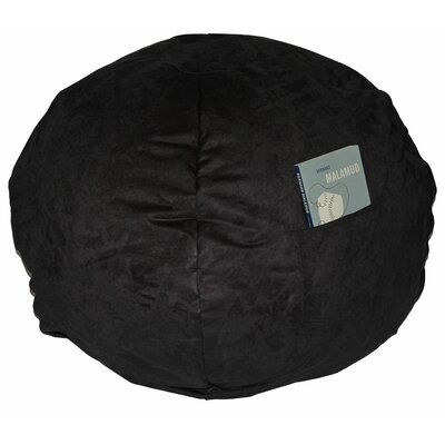 Bean Bag Chair Upholstery: Black, Size: 28