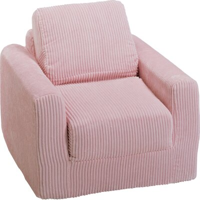 Child Armchair Upholstery: Chenille - Pink