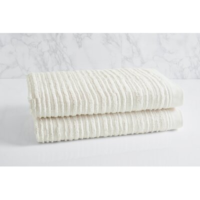 Cascading Solid Oversized Bath Towel Color: Sugar Swizzle
