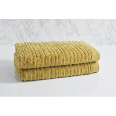 Cascading Solid Oversized Bath Towel Color: Pear Green