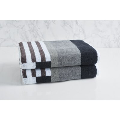 Trestle Bath Towel Color: Gray