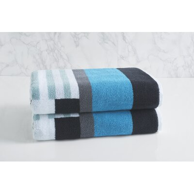 Trestle Bath Towel Color: Multi
