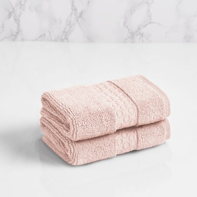 100% Cotton Washcloth Color: Morganite