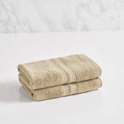 Essentials Solid Washcloth Color: Stone