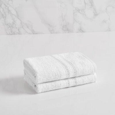 Essentials Solid Washcloth Color: Bright White