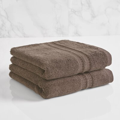 Wyrick Solid Hand Towel Color: Plum Truffle