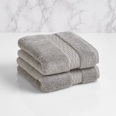 Hand Towel Color: Pewter