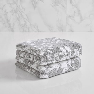 Lavalle Hand Towel Color: Soft Silver/Sugar Swizzle