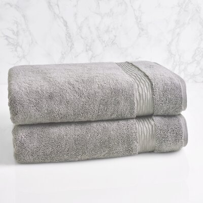 Bath Towel Color: Pewter