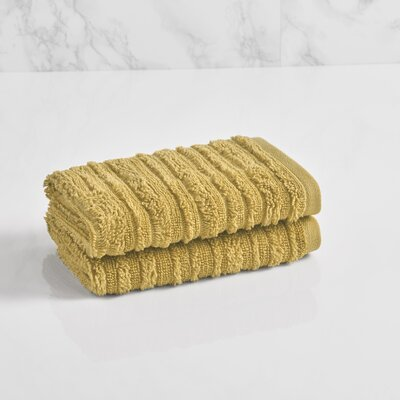 Tarsha Solid Washcloth Color: Pear Green