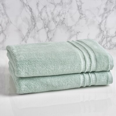 Essentials Solid Bath Towel Color: Sterling Blue