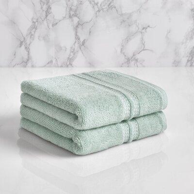Wyrick Solid Hand Towel Color: Sterling Blue