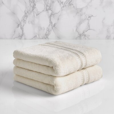 Essentials Solid Hand Towel Color: Sugar Swizzle