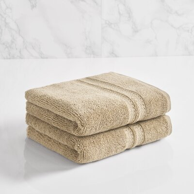 Essentials Solid Hand Towel Color: Stone