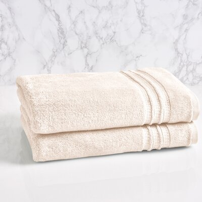 Essentials Solid Bath Towel Color: Sugar Swizzle