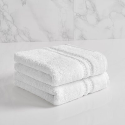 Wyrick Solid Hand Towel Color: Bright White