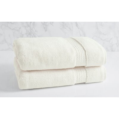 100% Cotton Bath Towel Color: Sugar Swizzle