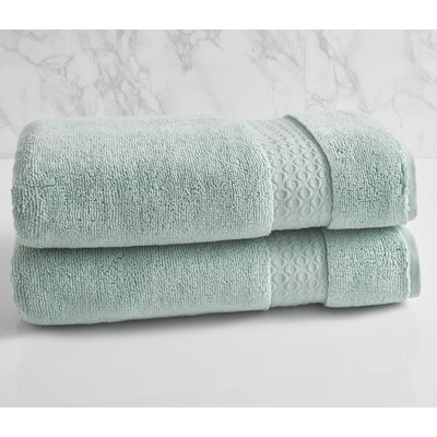 100% Cotton Bath Towel Color: Sterling Blue