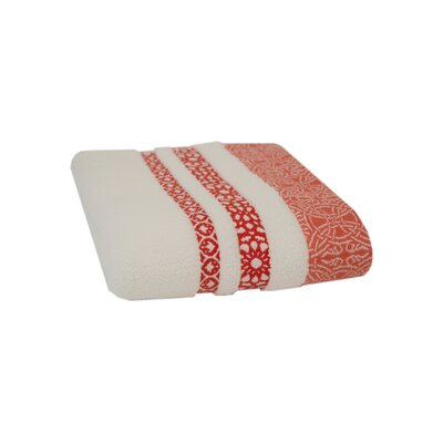 Hand Towel Color: Coral