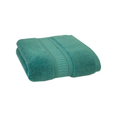 Solid Cotton Hand Towel Color: Teal