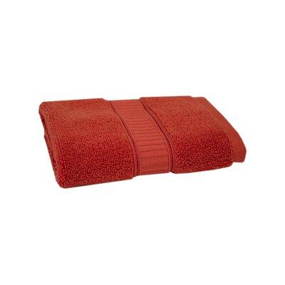Solid Cotton Washcloth Color: Coral