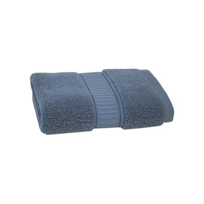 Solid Cotton Washcloth Color: Maritime Blue