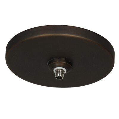 UniJack 1-Light Low Profile Mono Pod Canopy Finish: Bronze