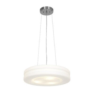 Altum 3-Light Pendant Bulb Type: Fluorescent