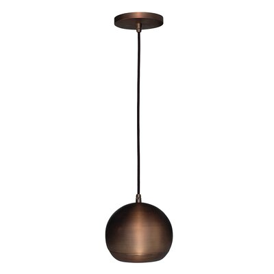 Stafford 1-Light Mini Pendant Finish: Bronze