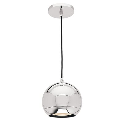 Stafford 1-Light Mini Pendant Finish: Chrome