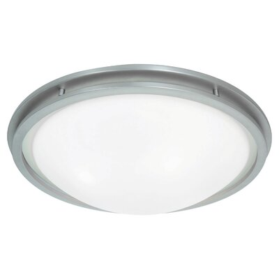Aztec Flush Mount Bulb Type: LED, Size: 4 H x 14 W x 14 D
