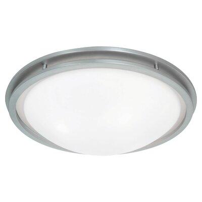 Aztec Flush Mount Bulb Type: LED, Size: 5 H x 21.5 W x 21.5 D