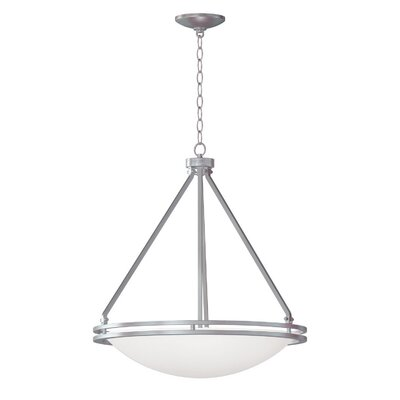 Aztec 5-Light Bowl Pendant Bulb Type: Incandescent, Size: 95.5 H x 21 W x 21 D