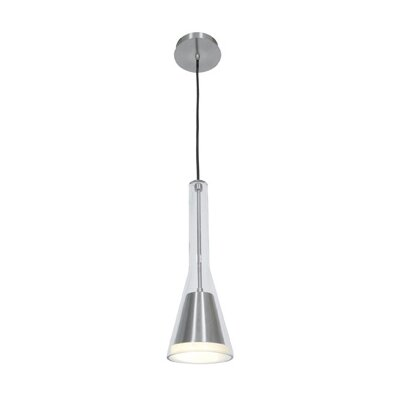 Pure 1-Light Mini Pendant Bulb Type: Incandescent