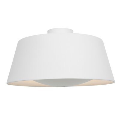Tylor 3-Light Flush Mount Finish: Rice