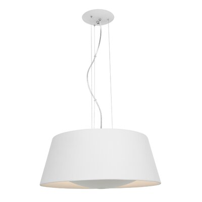 Collina 3-Light Pendant Finish: Rice