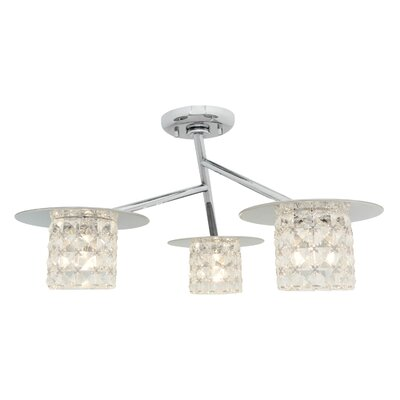 Jimenez 3-Light Semi Flush Mount