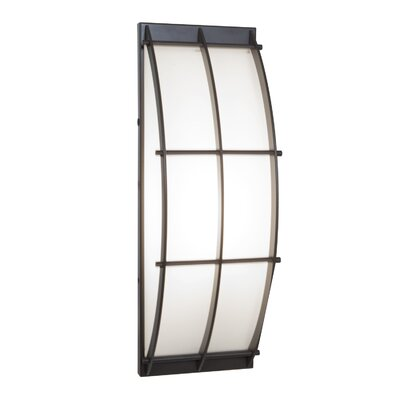 20373-SAT/OPL Satin Outdoor Wall Mount with Opal Glass Tyro Access Lighting 20373-SAT/OPL