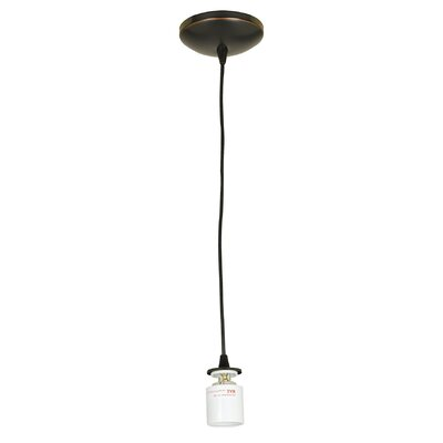 Sydney 1-Light Pendant Color: Oil Rubbed Bronze